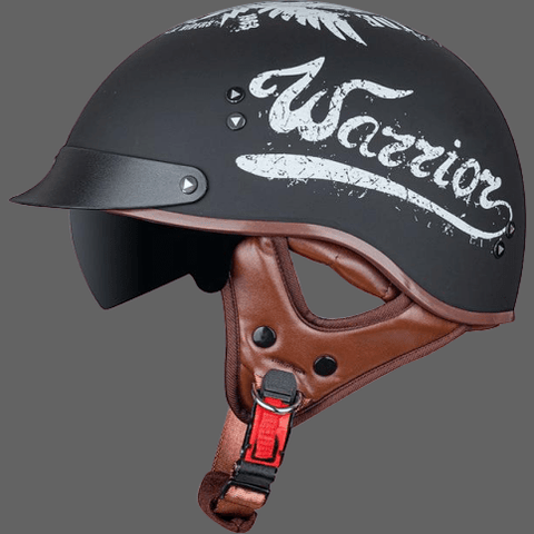 Casque ouvert Warrior - Locomotive Warror / 55-57 cm -
