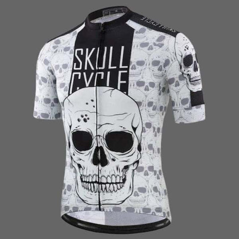 Maillot Velo Skull Cycle Pour Homme / Xxl