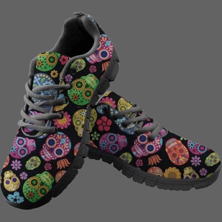 Sneakers Têtes de mort mexicaines - 35 - Chaussures
