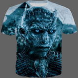 T-shirt Marcheur blanc Game of Thrones - 03 / S - T-shirt