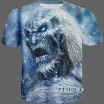 T-shirt Marcheur blanc Game of Thrones - 04 / S - T-shirt