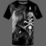 T-shirt tête de mort pirate - XS - T-shirt