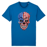T-shirt Crane USA - Bleu / XS - T-shirt
