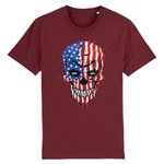 T-shirt Crane USA - Bordeaux / XS - T-shirt