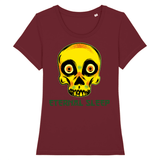 T-shirt femme Eternel Sleep - Bordeaux / XS - T-shirt