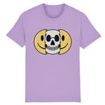 T-shirt smiley tête de mort - Lavande / XS - T-shirt