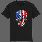 T-shirt Crane USA - Noir / XS - T-shirt