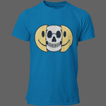 T-shirt smiley tête de mort - T-shirt
