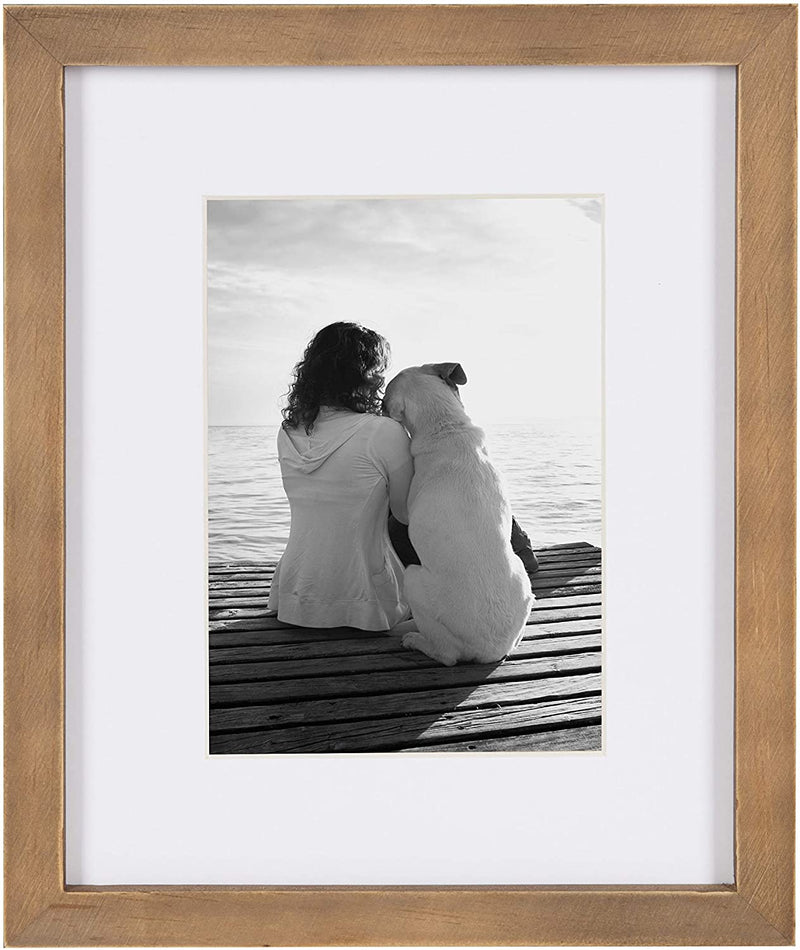 Gallery Rustic Brown Solid Wood 8X10 Frame