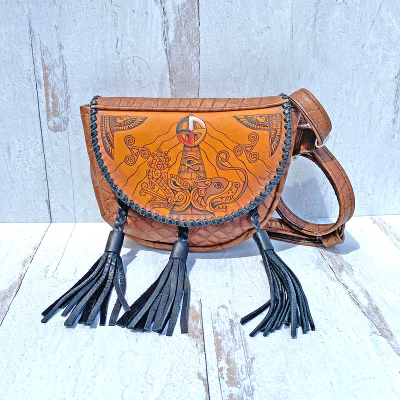 Egyptian/Mayan/Celtic/Native Sporron Bag