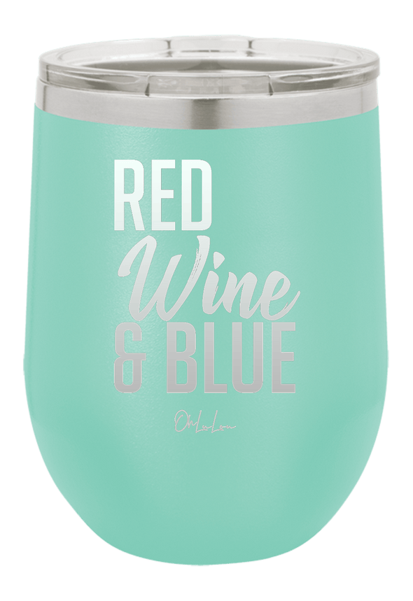 Red Wine & Blue Wine Tumbler