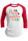 Miss Naughty List Raglan