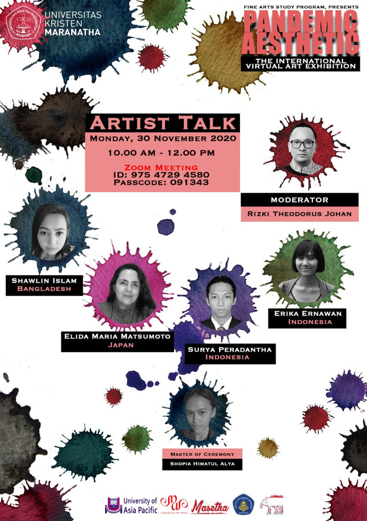 ARTIST TALK at Universitas Kristen Maranatha, Indonesia