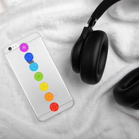7 Chakras healing iPhone Case available for iPhone 6/7/X - Shawlin