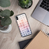 Squares pattern iPhone Case - Shawlin