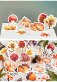 Autumn forest theme animal Stickers with woods - Shawlin