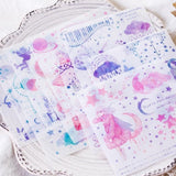 Decorative Stationery Craft Stickers for scrapbooking 10 sticker sheets per pack