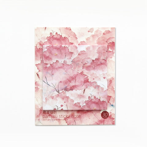 Nature inspired Sticky Note pads - Shawlin