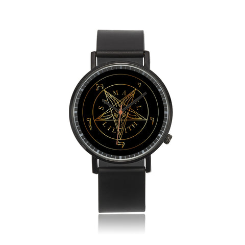 Sigil of Baphomet unisex Quartz watch