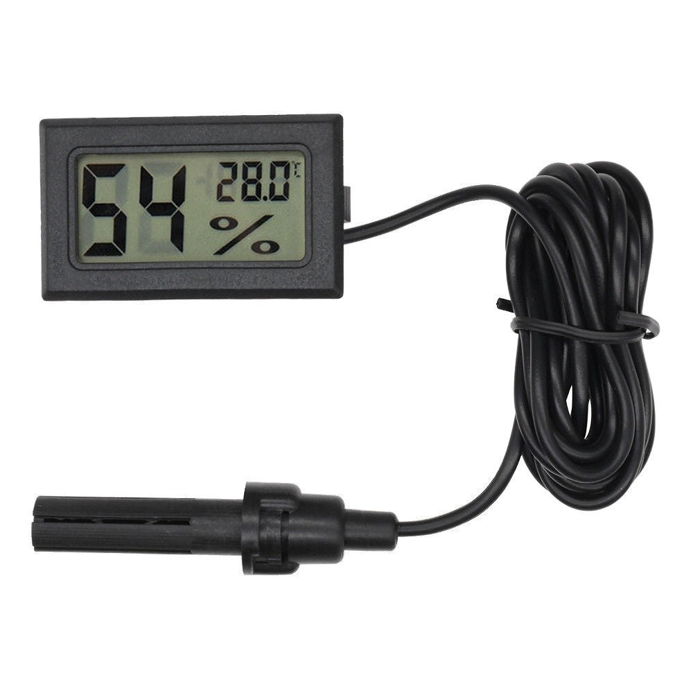 Mini Digital LCD Thermometer Hygrometer