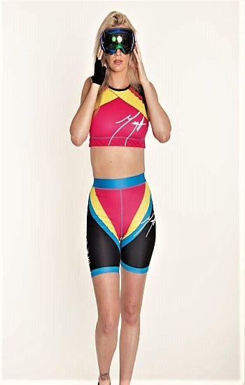 MEGA Biker Short and Sports Bra Set
