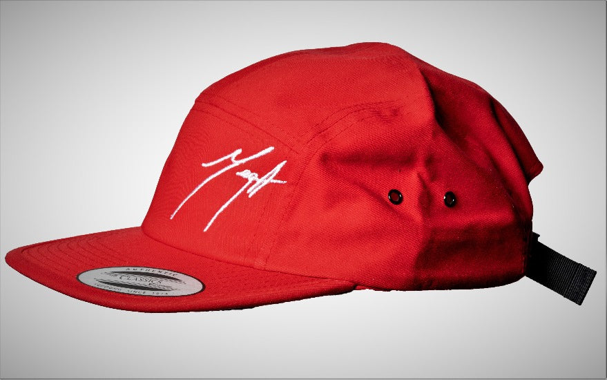 Cool Logo Cap - 5 Panel Red