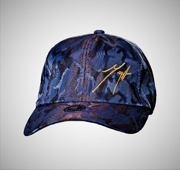 Cool Logo Cap - Blue Camouflage