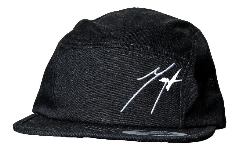 Cool Logo Cap - 5 Panel Black