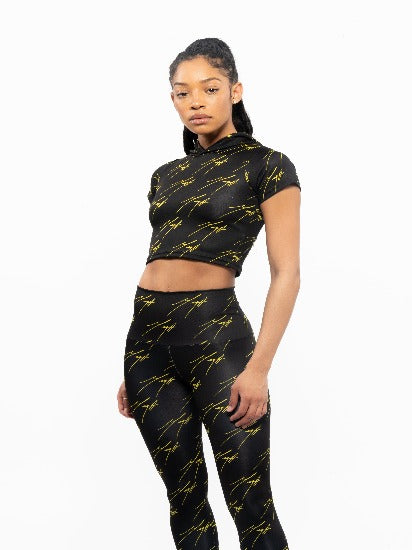 Black and Yellow Mega Signature Active Sport Set
