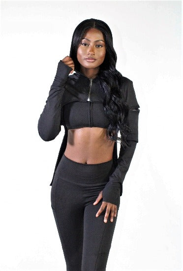 Black on Black Mega wrap 3 piece set