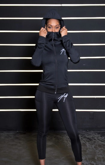 MEGA -mask hoodie set with Leggings