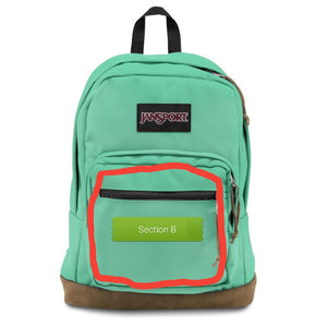 Painted Backpack