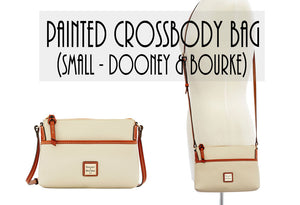 Small Dooney Crossbody (custom painted)