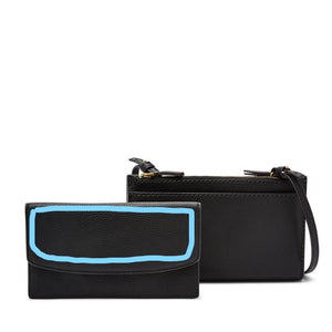 Leather Wallet Crossbody ADD-ON QUOTE & DECORATIVE ACCENT