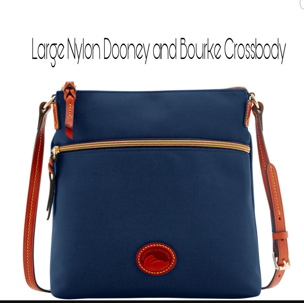 Large Dooney and Bourke Crossbody (custom painted)