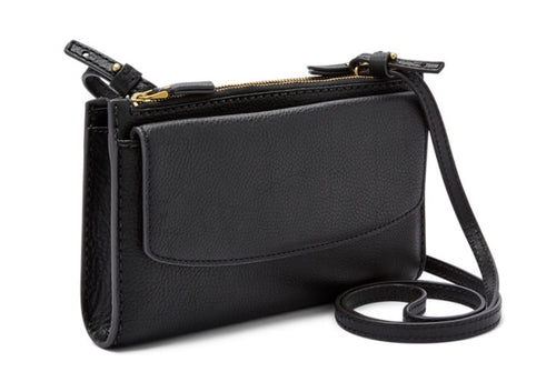 Leather Wallet Crossbody