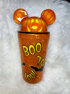 Mickey Pumpkin sipper
