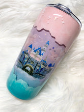 Aurora Painted Princess Snow-globe Tumbler
