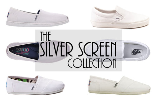 Shoes - Silver Screen (Toes Only - Read Description)