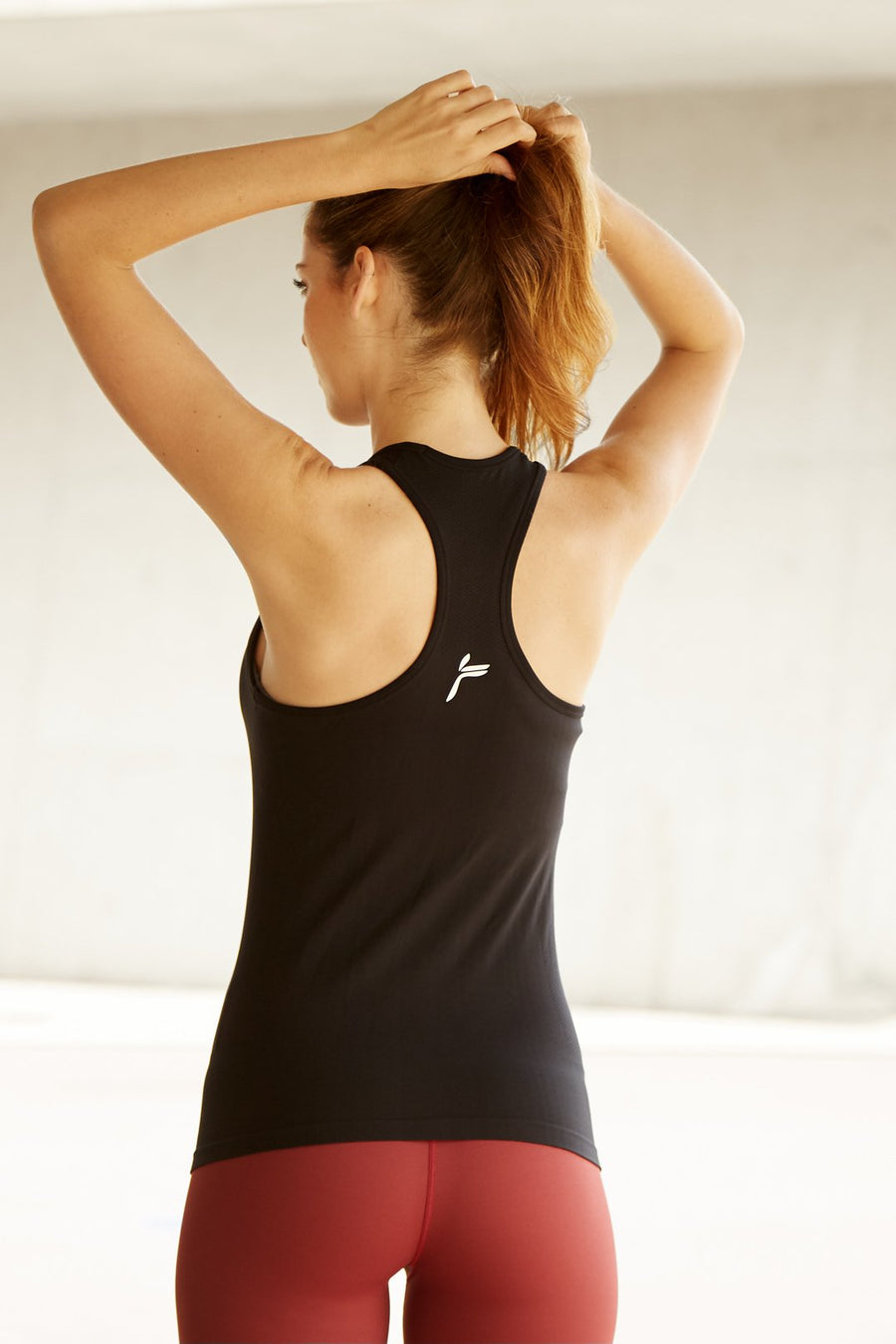 Black Atlantic Seamless Tank Top