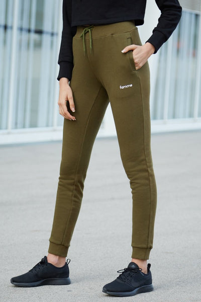 Army Green Pure Slim Jogger
