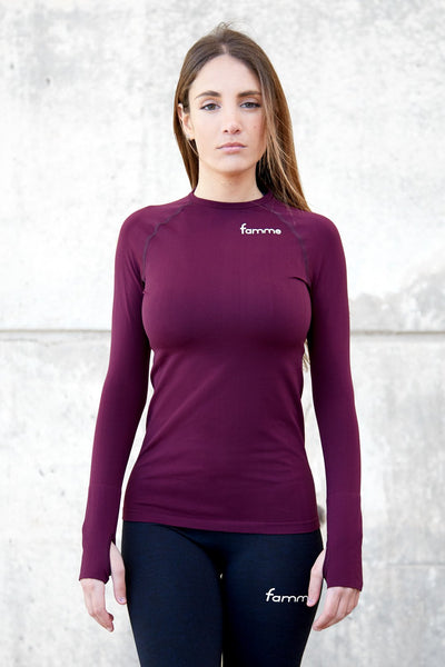 Wine Ocean Long Sleeve
