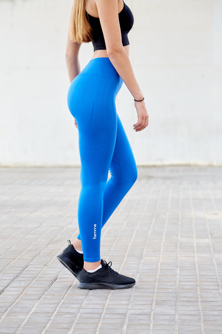 Nautical Blue Vortex Leggings
