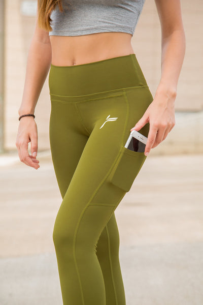 Forest Green Techna Tights