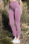 Dusty Pink Vortex Leggings