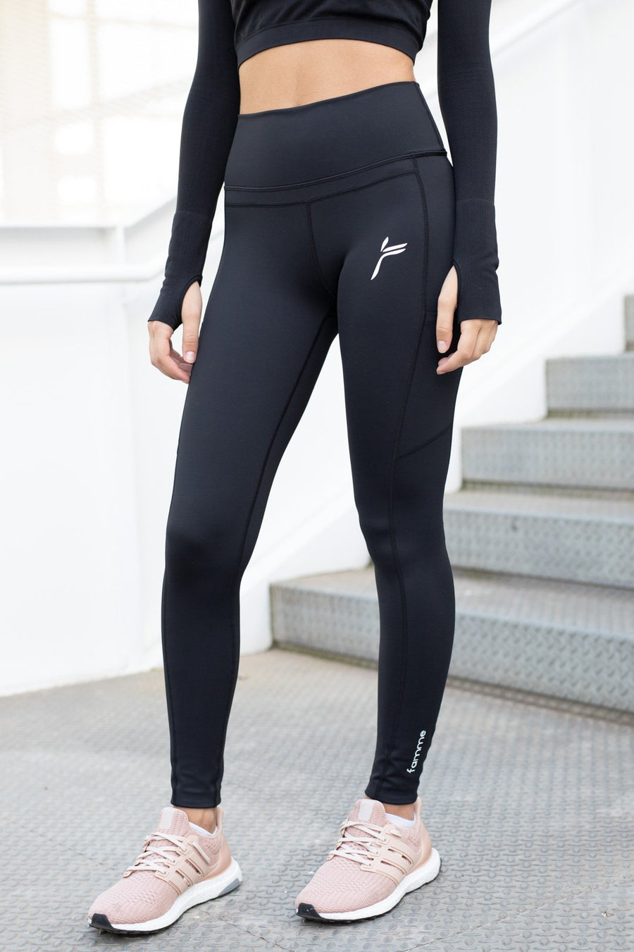 Black Techna Tights