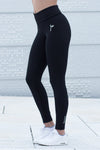 Black Essential High Waist Tights