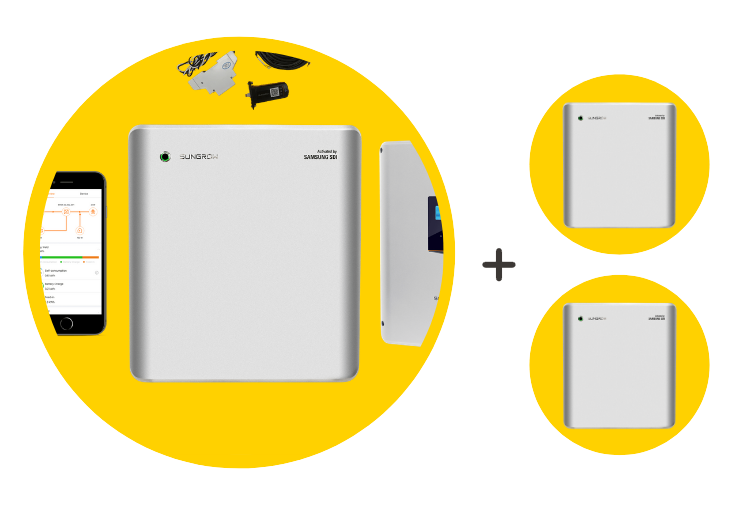 Sungrow Battery Package + 2x battery - $12,750