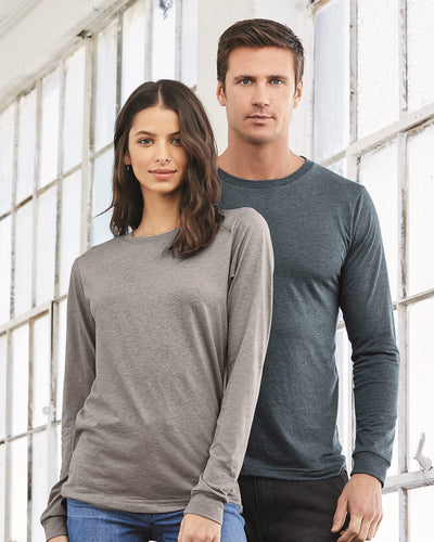 BELLA + CANVAS - Unisex Jersey LS Tee - 3501 - Customized - Empyre9 LLC