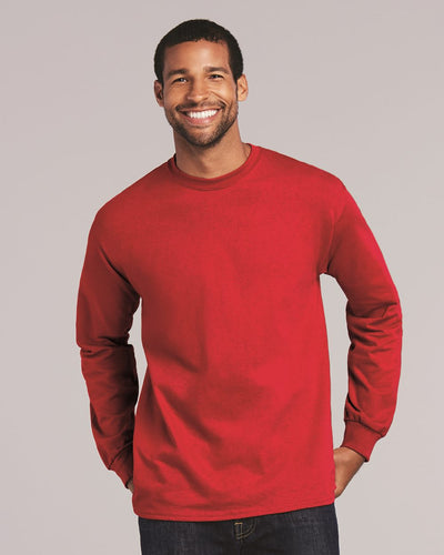 Gildan - Ultra Cotton® Long Sleeve T-Shirt - 2400 - Empyre9 LLC